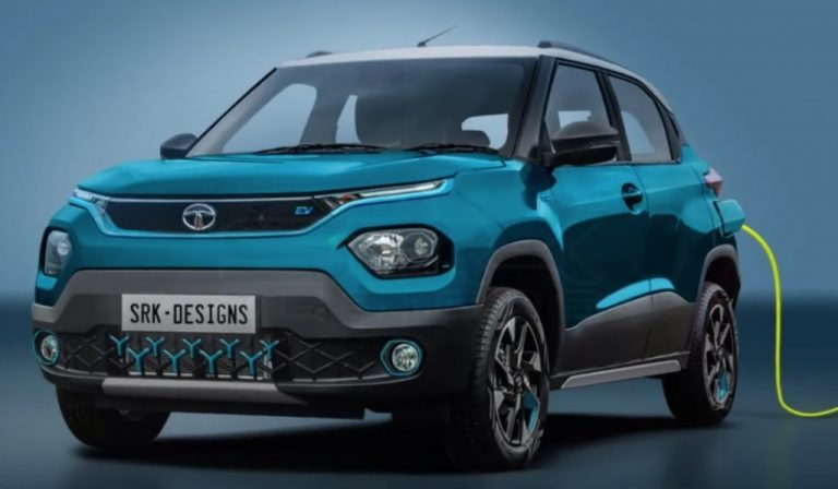 Tata Punch EV (Nexon-inspired) Imagined Ahead of Launch of ICE Model