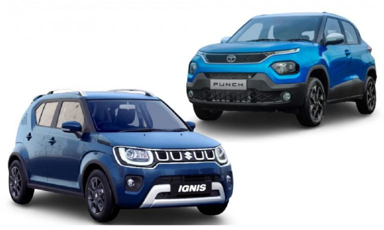 Tata Punch vs Maruti Ignis – Which Micro-SUV Looks Better?