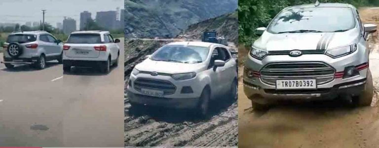 WATCH Ford EcoSport Go Off-Road & Race Kia Sonet, Maruti Brezza – VIDEO