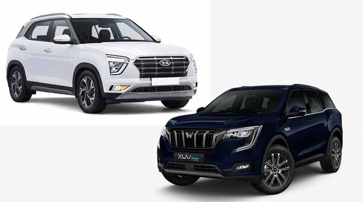Mahindra XUV700 vs Hyundai Creta- Specs, Prices, Features Comparison!
