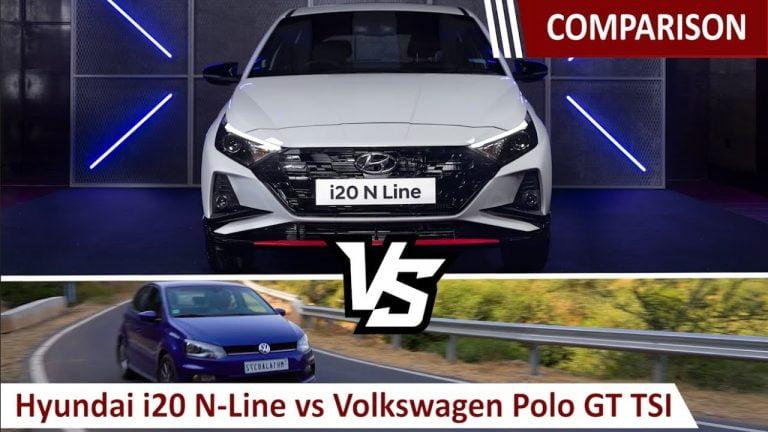 Hyundai i20 N-Line vs VW Polo GT TSI – Specs, Features Comparison