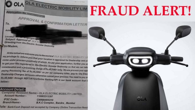 Ola Electric Scooter Dealership Allotment Fraud Comes to Light