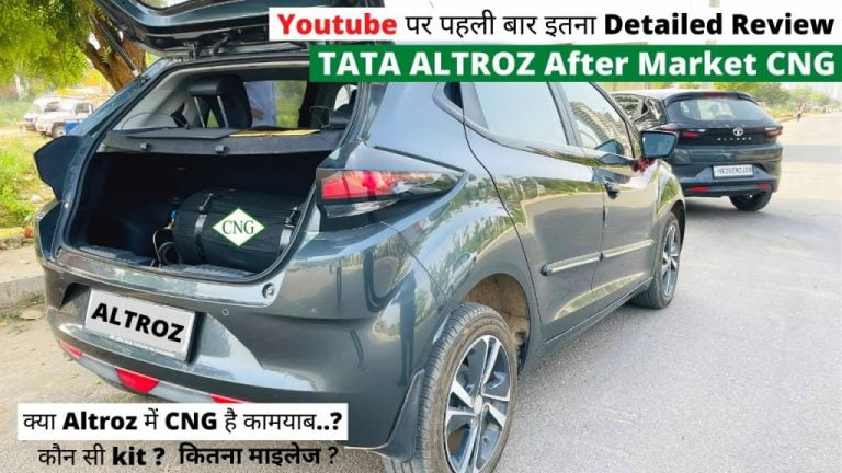 India's First Tata Altroz XZ With Aftermarket CNG Kit – This is it!