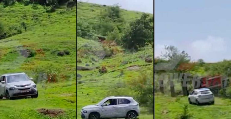 Tata Punch Being Tested on Hill Shows It Can Go Soft-Roading!