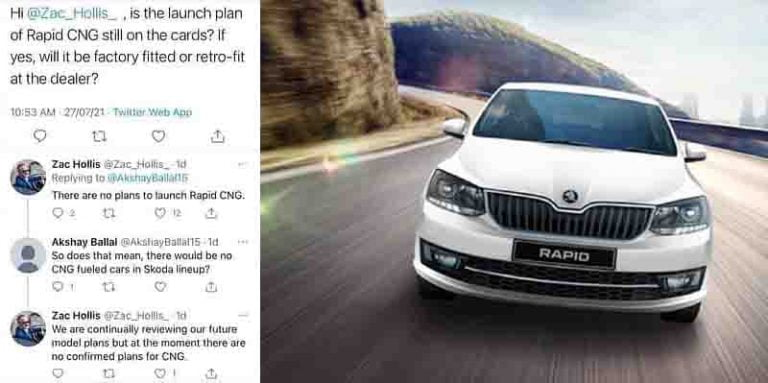 Skoda Rapid CNG Launch Cancelled As Carmaker Takes A U-turn!