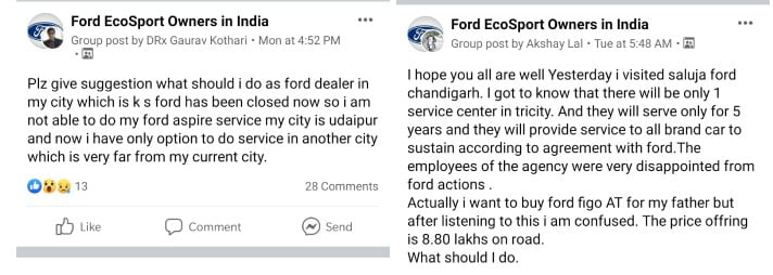 Ground Reality of Ford Aftersales Revealed Days After Promise of Support