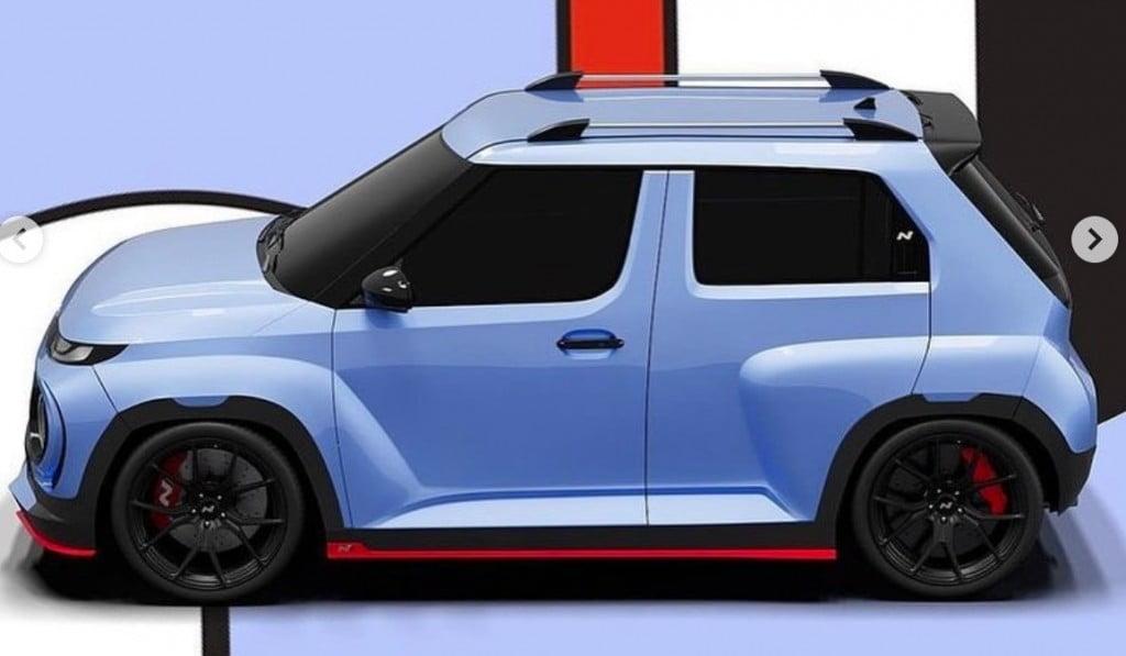 Hyundai Casper N Line SUV Side Profile