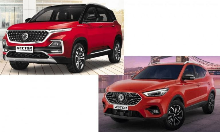 MG Astor vs Hector Comparison – Which One Should You Buy?