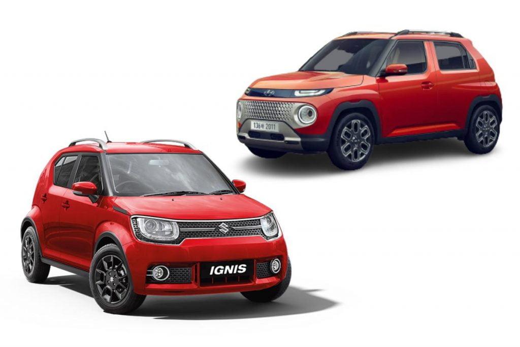 Maruti Ignis VS Hyundai Casper