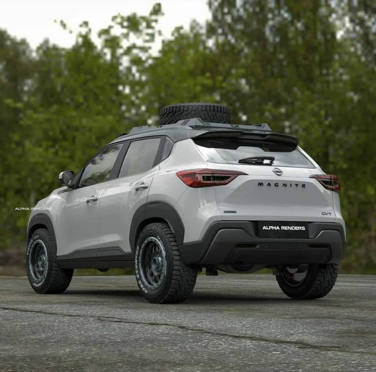 Here is an Off-Road Ready Concept of The Nissan Magnite!
