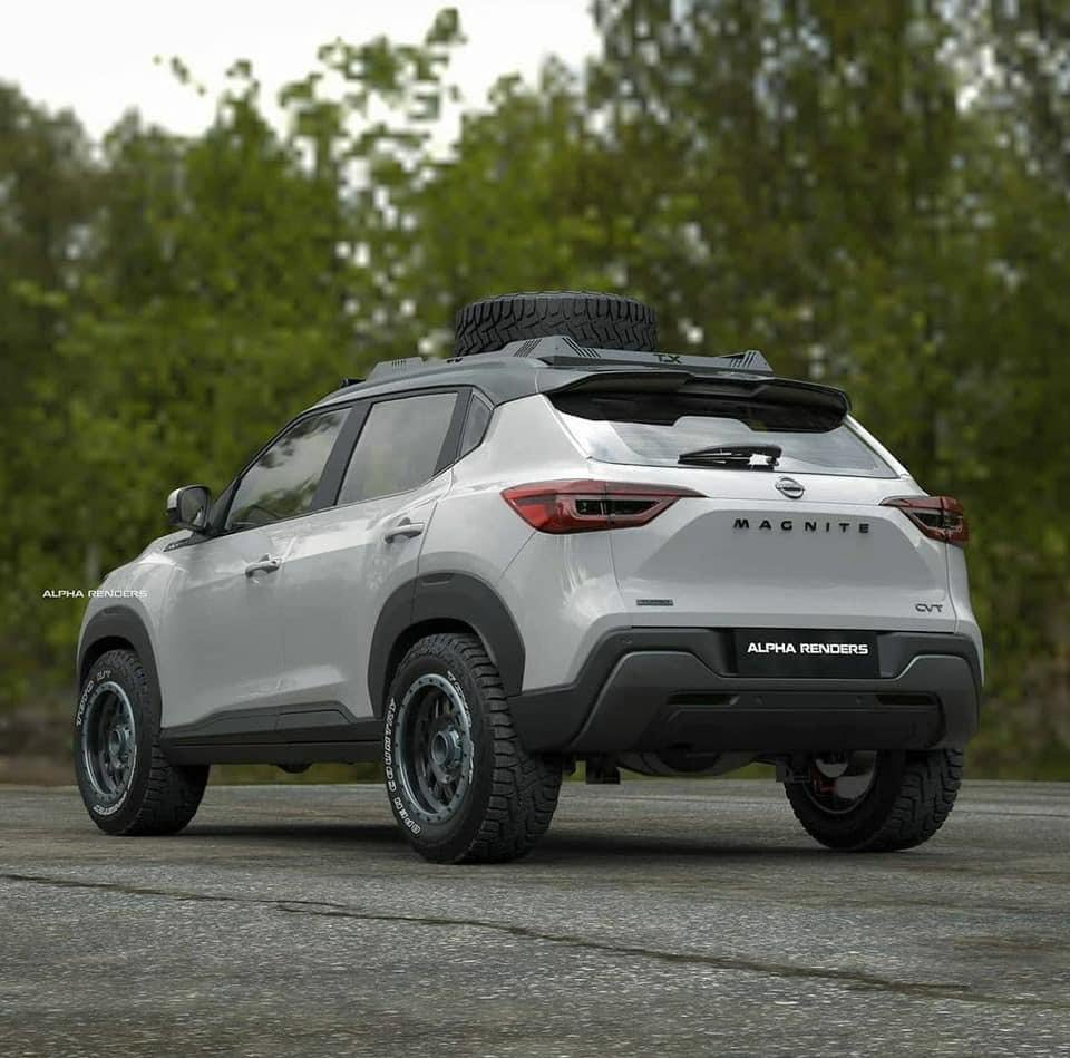 Off-Road Concept Nissan Magnite