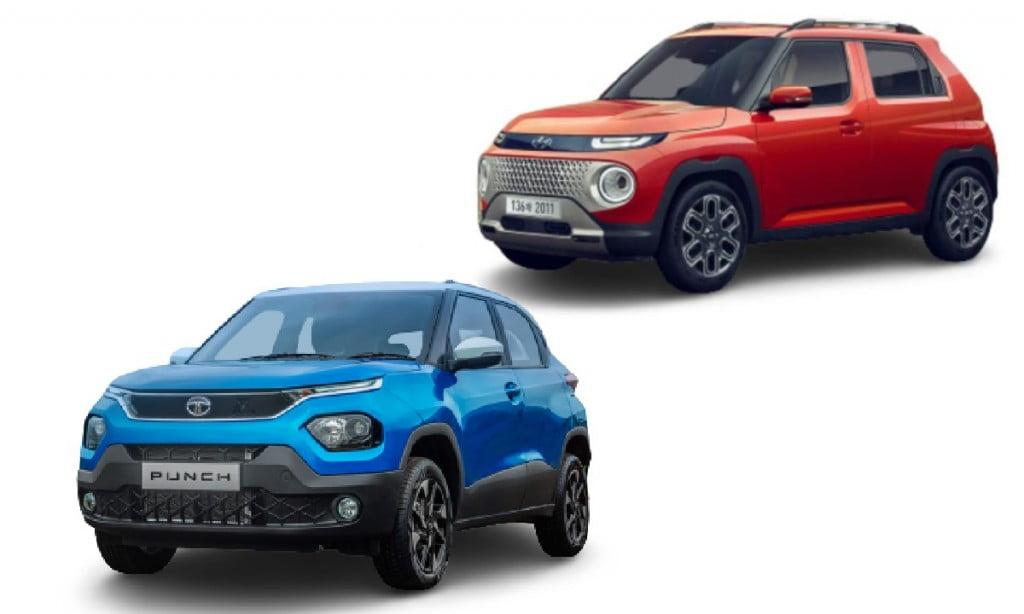 Tata Punch vs Hyundai Casper Design Comparison
