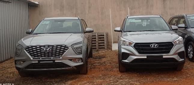 WATCH New Hyundai Creta Facelift Parked Alongside Last-Gen Model