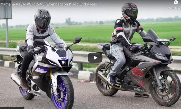 WATCH Yamaha R15M VS R15 V3 in Drag Race! – Video