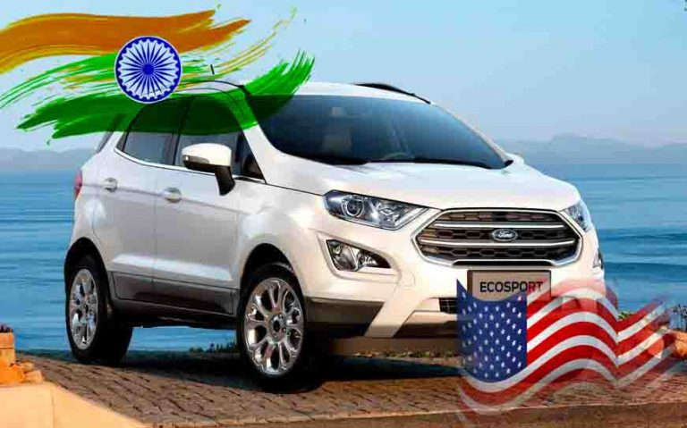 Ford EcoSport to Even Exit USA Despite Higher Sales Than in India