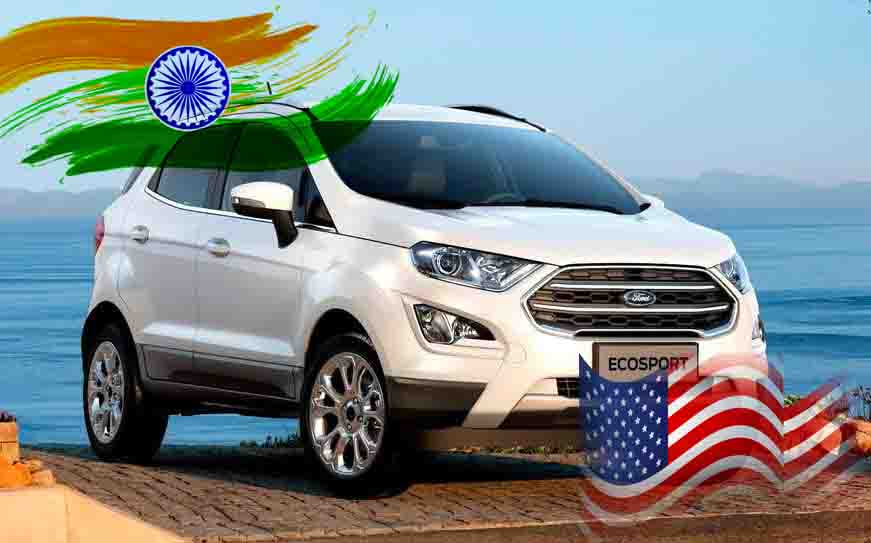 ford ecosport india usa discontinue