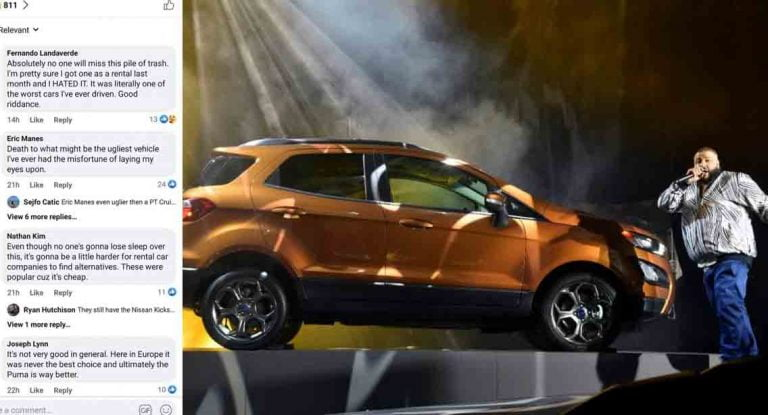 Unlike Indians, Americans Celebrate Discontinuation of Ford EcoSport!