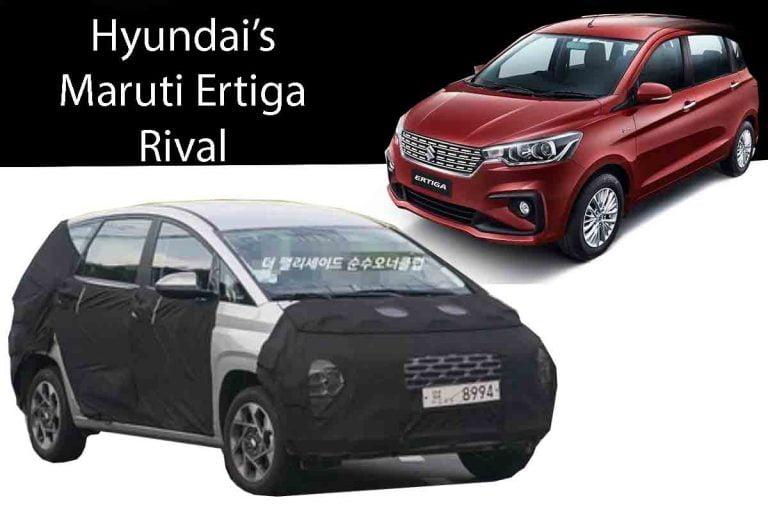 Hyundai's Maruti Ertiga Rival Spied on Test!