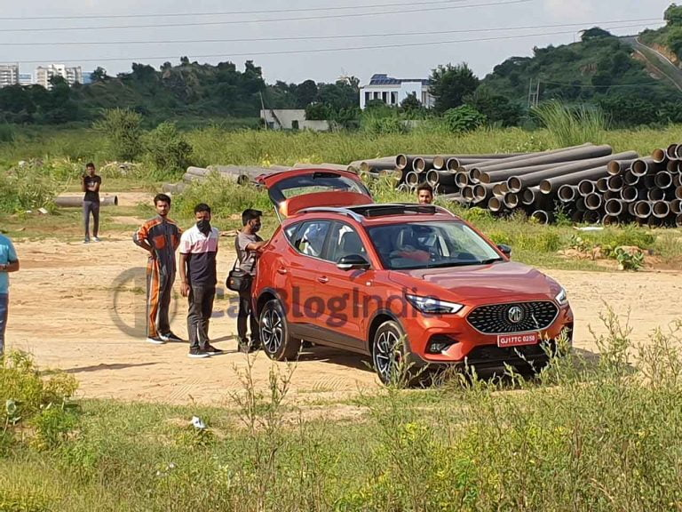 MG Astor Spied During Ad Shoot Ahead of Official Unveiling Tomorrow