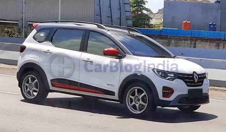EXCLUSIVE- Renault Triber Sports Spied, To Launch With 1.0L Turbo