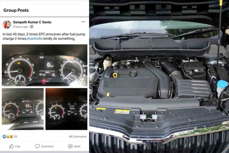 Doctor Owner of Skoda Kushaq Faces Multiple EPC Errors in Just 40 Days of Ownership