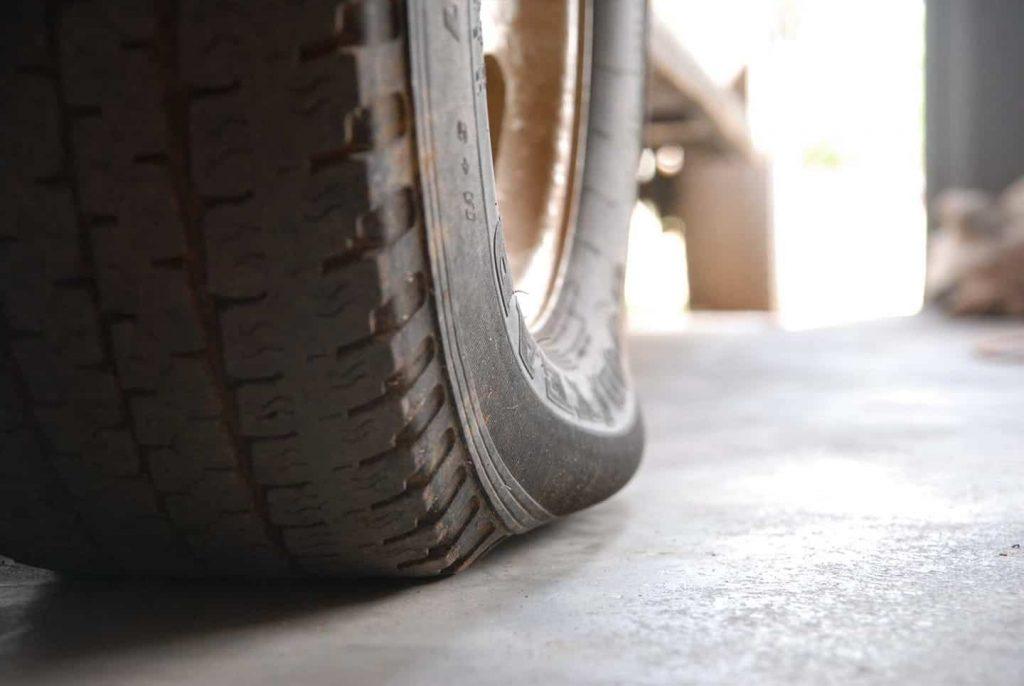 tyre low air pressure