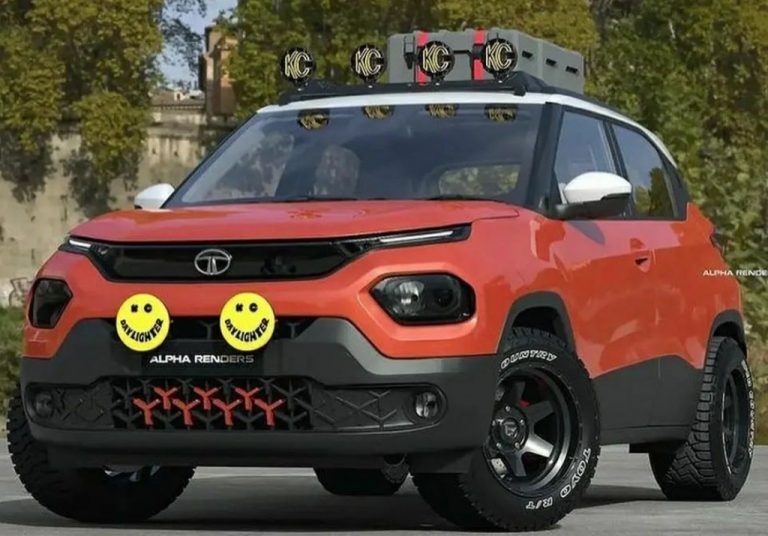 Tata Punch Looks More Macho Than Ever With Off Road-Spec Gear
