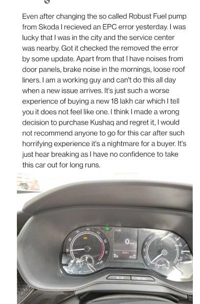 Robust Fuel Pump Kushaq
