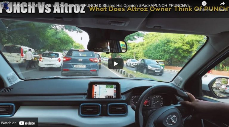 Tata Altroz Owner Drives Punch and Shares His Opinion!
