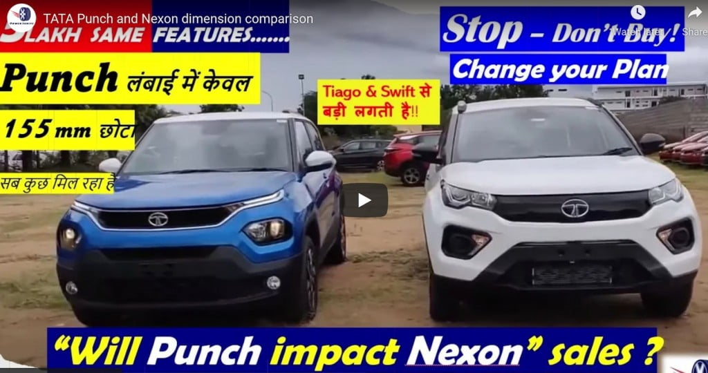 Tata Nexon Punch Comparison