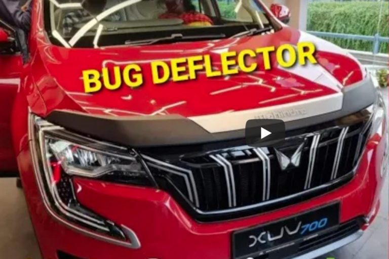 How About a Bug Deflector For Mahindra XUV700?