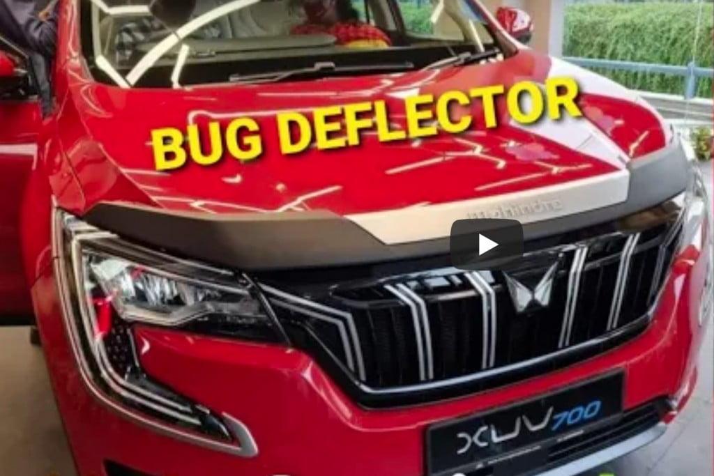 XUV700 Bug Deflector Accessories