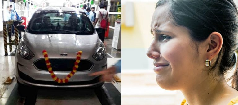 Pics of Last Ford Car Produced in India Leave Us Teary-Eyed!
