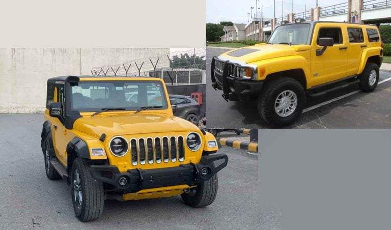 This Mahindra Thar Can Give Hummer A Complex!
