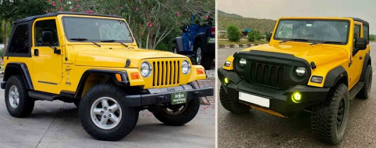 We Bet You'll Choose This Mahindra Thar Over a Jeep Wrangler!