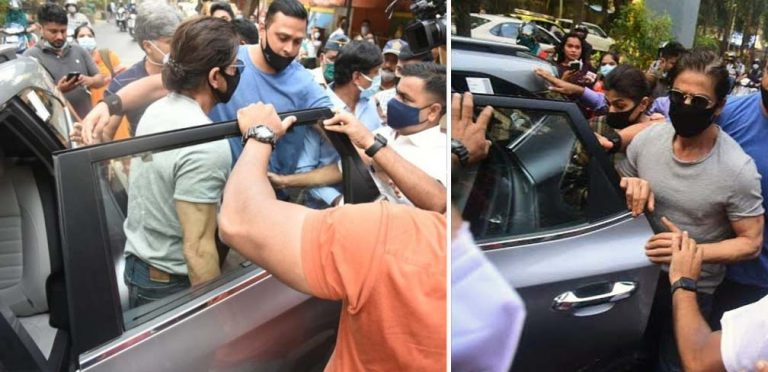 Shahrukh Khan Uses Kia Seltos to Keep Low Profile During Jail Visit!