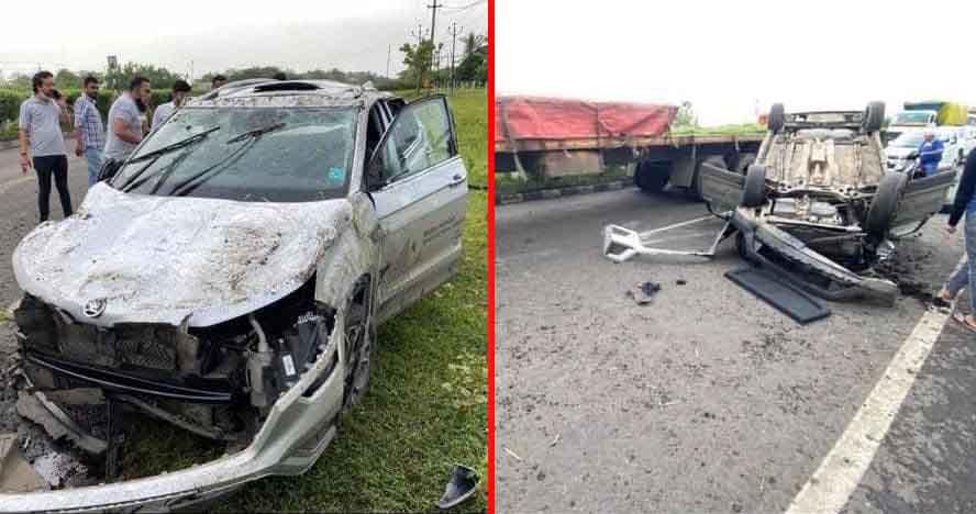 skoda kushaq first major accident