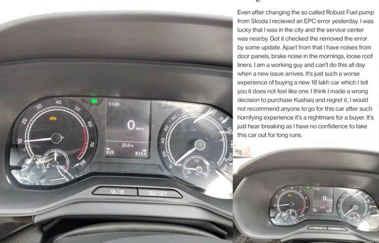 Skoda Kushaq Owner Says 'Worst Experience of Buying Rs 18 Lakh Car'