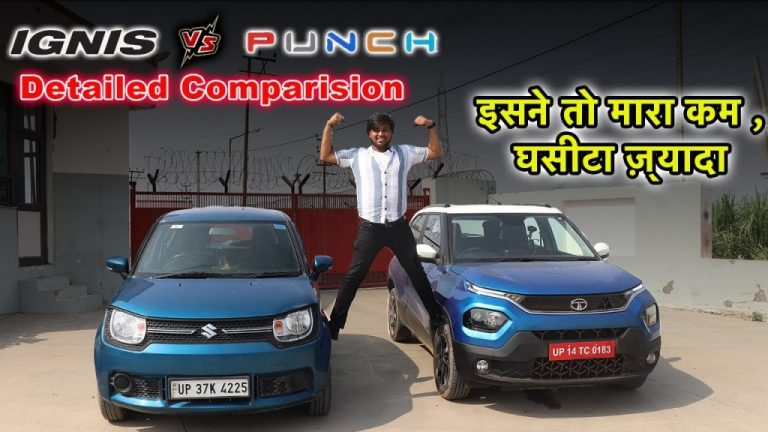 High Price And Low Power Making Buyers Choose Maruti Ignis Over Tata Punch!