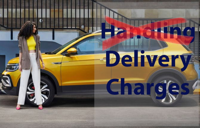 VW Taigun Dealer FRAUD – Handling Charges Masked as Delivery Fee!