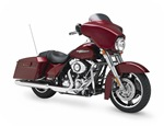 Touring, FLHX, Street Glide, angle front