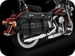 Softail, FLSTC, Heritage Softail Classic, exhaust pipes