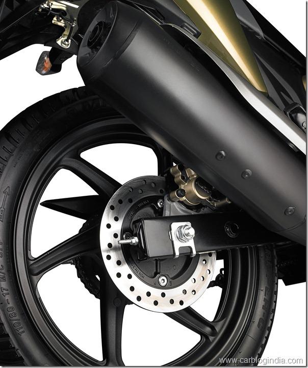 Honda Dazzler Rear Disk Brake