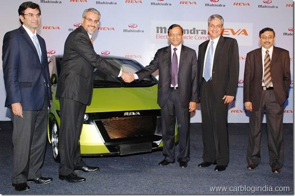 Mahindra acquires REVA