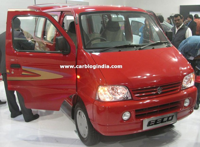 Maruti Launched Eeco At Auto Expo Ecco Pictures Price