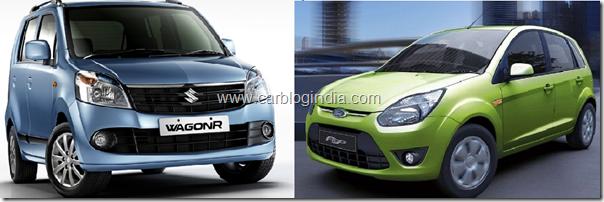 New Wagon R Vs Ford Figo