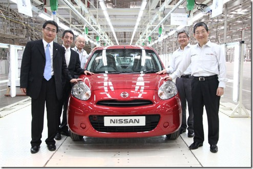 Nissan Micra Production Started In India