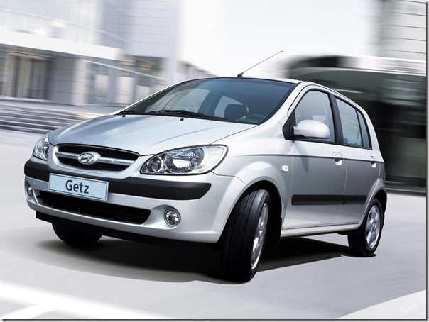 Hyundai getz phase out