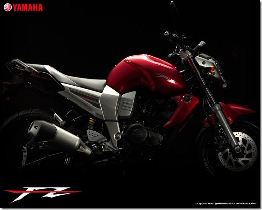 Yamaha fz 16 side view