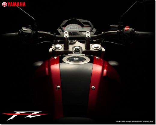yamaha fz16 fuel tank
